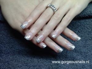 Gel nagels glitter